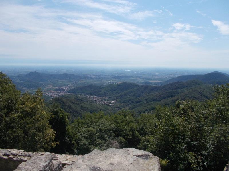 panorama dal monte Venda