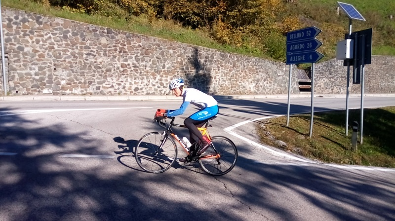 Salita a Rocca Pietore