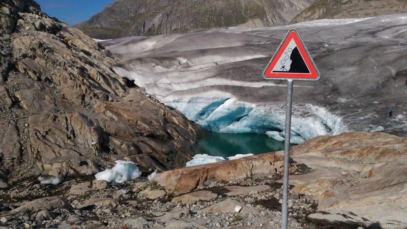 Ingresso al ghiacciaio dell'Aletsch