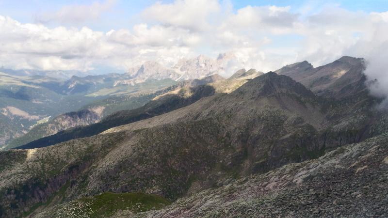 Panorama sulle Pale di San Martino